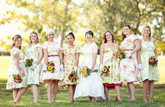 bridesmaids-pattern-dresses