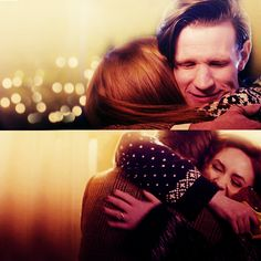 Everytime you see them happy, you remember how sad they're going to be. And it breaks your heart. Because what's the point of them being happy now, if they're going to be sad later? The answer is, of course, because they're going to be sad later. #DoctorWho