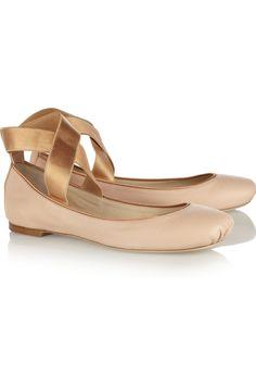 Chloé Leather ballet flats NET-A-PORTER.COM