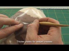 Prosthetic Sculpting Tutorial Video Part 3: skin textures - YouTube