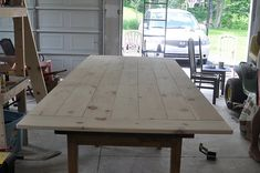 farm table diy east coast, farmhous tabl, tutorials, barn doors, farmhouse table, farm tables, wood tables, tabl diy, backyards