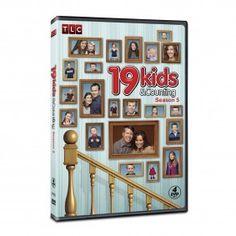 19 Kids and Counting Season 5 DVD $49.95 #19Kids