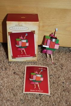 2004 Hallmark Barbie Christmas ornament