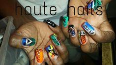 #naild4life #nailart #tribal