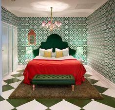 Fargerike pusser opp suite 208 på Grand Hotel i Årets Farge! - Fargerike