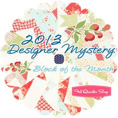 2013 Designer Mystery Block of the MonthTM Block of the Month Program! We can't wait!