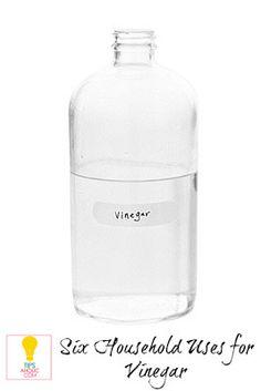 Six Household Uses for Vinegar