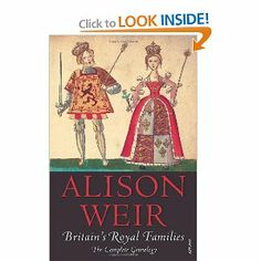 Britain's Royal Families: The Complete Genealogy (updated) by Alison Weir. $8.98. Author: Alison Weir. Publisher: Vintage Books (January 6, 2009)