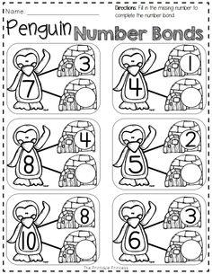 free penguin activities for kindergarten