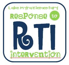A wonderful resource for all things RTI - Re-pinned by @PediaStaff – Please Visit http://ht.ly/63sNt for all our pediatric therapy pins