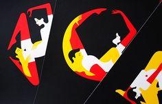 Juxtapoz Magazine - Malika Favre: The Kama Sutra from A to Z favr interview, adult miscellan, malikafavr, malika favr, kamasutrad malika, graphic designtypographi, illustr