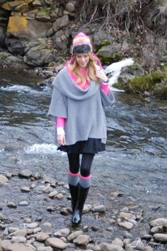 Cold Weather Outfits ~ Winter Neon | Fashion Addict