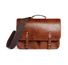 The Dart Oak Bark Tanned bag by The Merchant Fox.  Sometimes it just takes that Savile Row touch to give an ordinary bag extraordinary character.