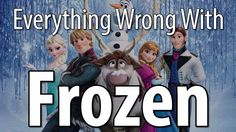 Everything Wrong With Frozen In 10 Minutes Or Less - i knew i wasnt the only one that didn't like Frozen... disney movies, 10 minut, i hate frozen