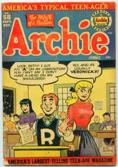 Archie comics! http://www.wired.com/images_blogs/photos/uncategorized/archie_cover.jpg