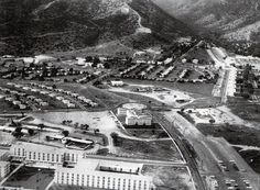 Fort Huachuca, AZ.  My old house is center back on Henry Circle