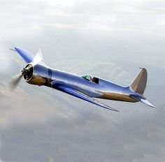 1935 Hughes H1 replica, so exactly crafted in 2002 that the FAA granted it serial number 002. However, the replica crashed in 2003, killing its creator.