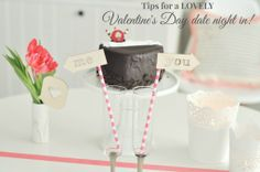 Valentine's Day at-home date night tips and a giveaway.