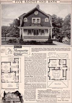 1923 - Sears Modern Home - Marquette