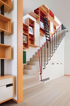 Inside a Soho penthouse by architect Andrew Franz [via NYMag] #stairs