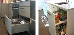 oil/vinegar pull out cabinet