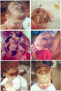 Sparse Hair Toddler Hair do's!