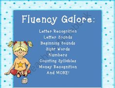 Common Core Fluency Fun!! Enter for your chance to win 1 of 2.  Kindergarten Common Core Fluency Mats: Letters, Sounds, Numbers, and MORE! (60 pages) from TheKinderLife on TeachersNotebook.com (Ends on on 10-31-2014)  A fun way to practice fluency! Good luck!