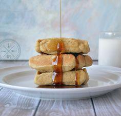 Crispy, Fluffy, #paleo Waffles by @ourpaleolife