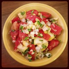 Looking for a non-gmo recipe for your summer picnics and gatherings? Check out this one, YUM! http://gmoinside.org/katies-non-gmo-summer-recipes-corn-tomato-salad/