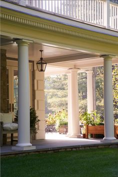 Porch Design Ideas. This is how a perfect porch looks like! It invites you in.