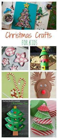 Top 10 Christmas Crafts for Kids! So cute!
