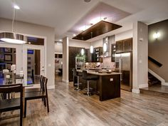 Contemporary Kitchens from Wonderland Homes on HGTV