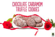 Looking for a sweet treat that is full of love? Try this Fair Trade Chocolate Cardamom Truffle Cookies recipe by renowned chef Malika Ameen! #FairTrade