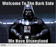 DISNEY has joined  the dark side.