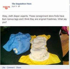 A Rare Cloth Diaper Find - To Keep or Not to Keep?