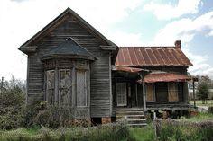 Leary, GA abandoned house by Brian Brown, Vanishing South Georgia.