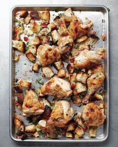 Inside-Out Chicken and Stuffing