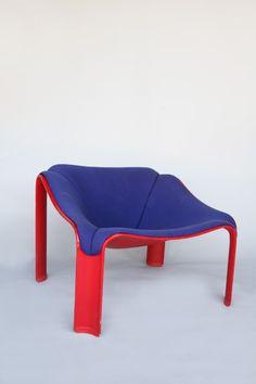 Pierre Paulin, F300 Chair for Artifort, 1964.