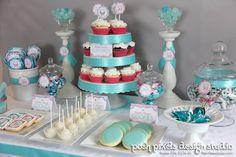 30th birthday dessert table