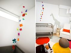 Modern Jungle Dot Nursery by Andrika King Design