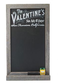 personalized chalkboard