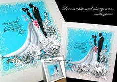 Wedding frame - by: Susan Quilling