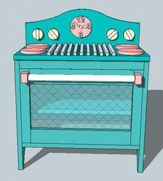 Build The Cutest Play Stove EVER!