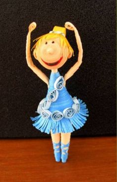Ballerina - 2 - Quilled Creations Quilling Gallery