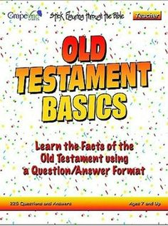 Old Testament Basics for Kids