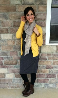 Yellow Cardigan, Sca