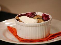 Blueberry-Nectarine Crisp Recipe : Anne Burrell : Food Network - FoodNetwork.com