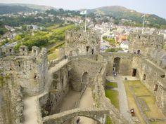 Conwy castle, North Wales.