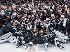 Two-time Stanley Cup champions, the L.A. Kings, played 26 playoff games this past spring, matching the NHL record for the longest postseason run. Los Angeles has played 64 playoff games over the last three years, setting another league record. (Photo: David E. Klutho/SI)