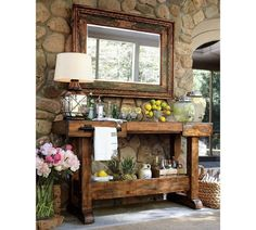 potterybarn, buffet tables, bar areas, potting tables, outdoor bars, barns, kitchen islands, pottery barn, patio bar